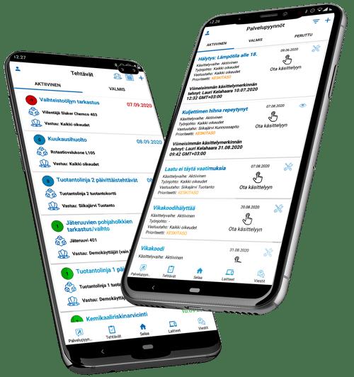 Tehtävät ja palvelypyynnöt mobiilit 2